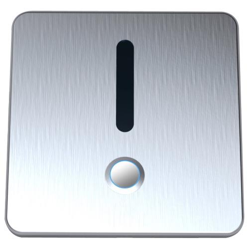 Urinal Betätigungsplatten Urinalelektronik mit manueller Auslösung und LED Beleuchtung