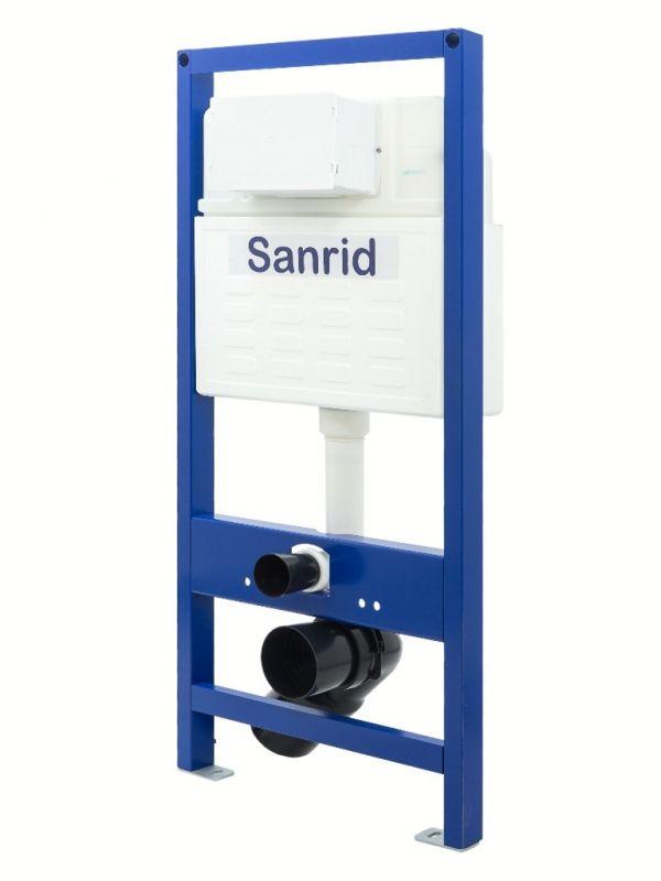 Sanrid solid WC Vorwandelement 112 cm