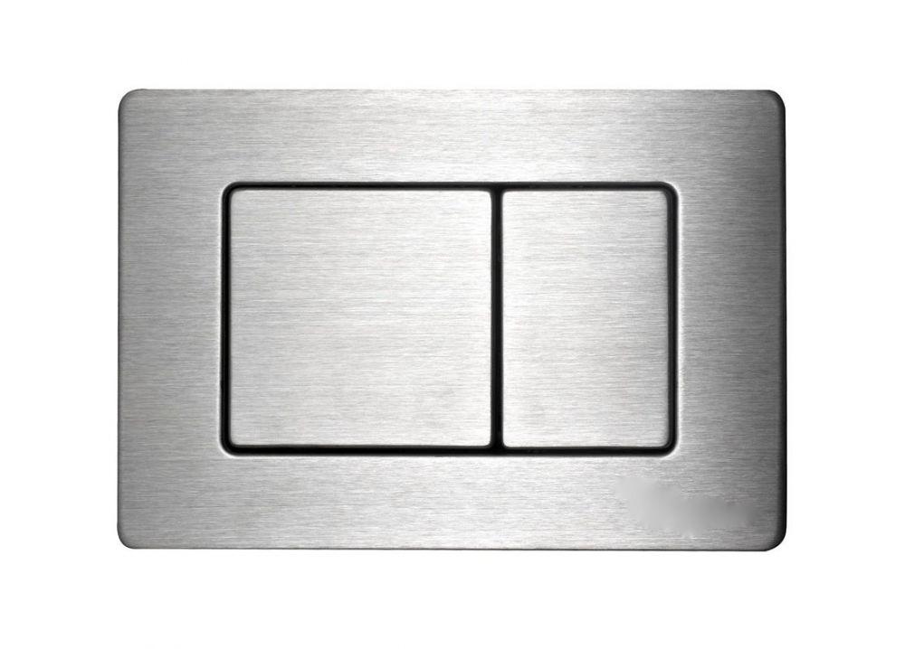 Sanrid Betätigungsplatte stable B5 Edelstahl Gebürstet