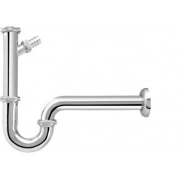 Röhren Siphon, Messing mit Geräteanschluss