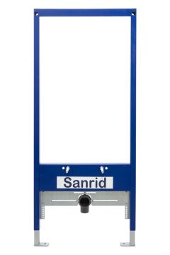 Sanrid Bidet Vorwandelement 112 cm, universell