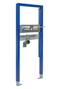 Sanrid Waschtisch Vorwandelement für Standarmatur, 112 cm