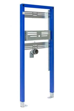 Sanrid Montageelement Waschtisch für Wandmontage AP, 112 cm
