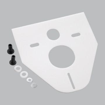 Schallschutz-Set für Wand-WCs und Bidets