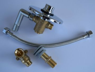 Urinal-Armatur - Druckspüler - Unterputz, AN:IBF100491