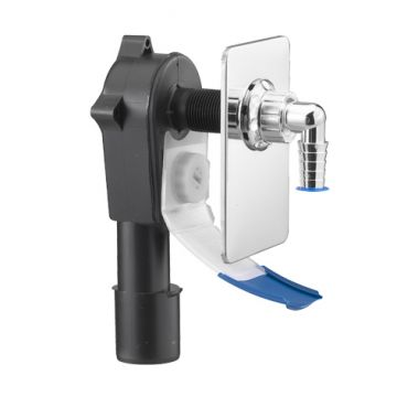 Unterputz-Geräte-Siphon mit Wasserrutsche