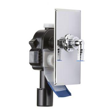 Unterputz-Geräte-Siphon mit zwei Reinigungsöffnung