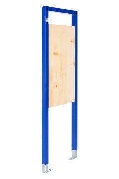 Sanrid Vorwandelement Stütz und Haltegriff 112 cm, Befestigungsplatte 18 mm
