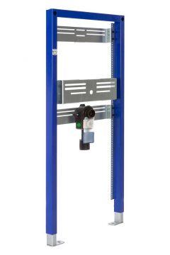 Sanrid Vorwandelement Waschtisch Barrierefrei für Wandmontage AP, 112 cm