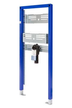 Sanrid Vorwandelement Waschtisch Barrierefrei für Wandmontage UP, 112 cm