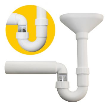 PP-Trichter-Kugelverschluss-Siphon, AN: IBF100409