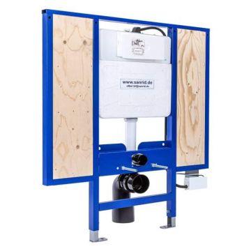 Sanrid stable WC Vorwandelement 112 cm mit Sensor