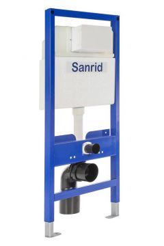 Sanrid solid WC Vorwandelement 112 cm, AN IBF100415