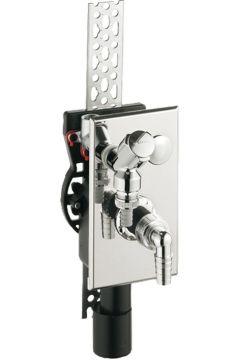Unterputz-Geräte-Siphon mit Armaturen