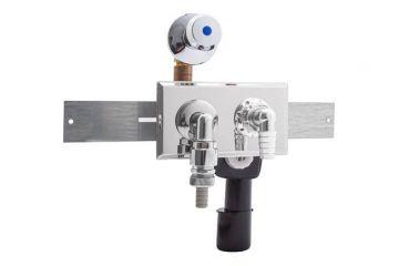 Unterputz-Geräte-Siphon & Auslaufventil inkl. Montageschiene, AN:IBF100461