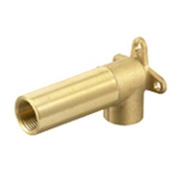 Wandscheibe / Deckenwinkel Messing 1/2 75 mm lang, AN: IBF100427