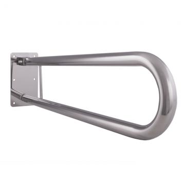 Klappgriff am WC oder Waschbecken für barrierefreies Bad Edelstahl 60 cm ⌀ 32 mm, AN.IBF100469