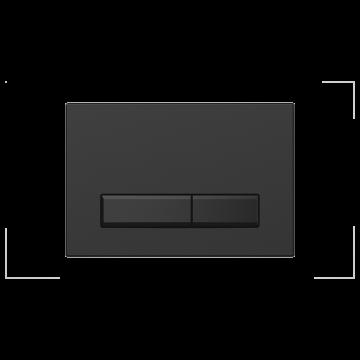 Sanrid Betätigungsplatte stable B9 matt black