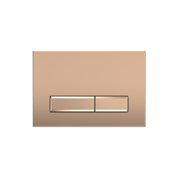 Sanrid Betätigungsplatte stable B9 Rose Gold