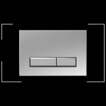 Sanrid Betätigungsplatte stable B9 chrom